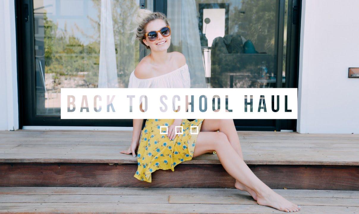 BACK TO SCHOOL CLOTHING HAUL! | Aspyn Ovard