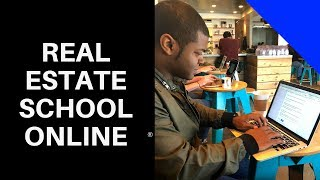 Online real estate schools (Real Estate Express, Allied, Champions School of Real Estate)