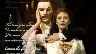 """All I ask of you"" - Josh Groban & Kelly Clarkson - Trad.Castellano - HD"