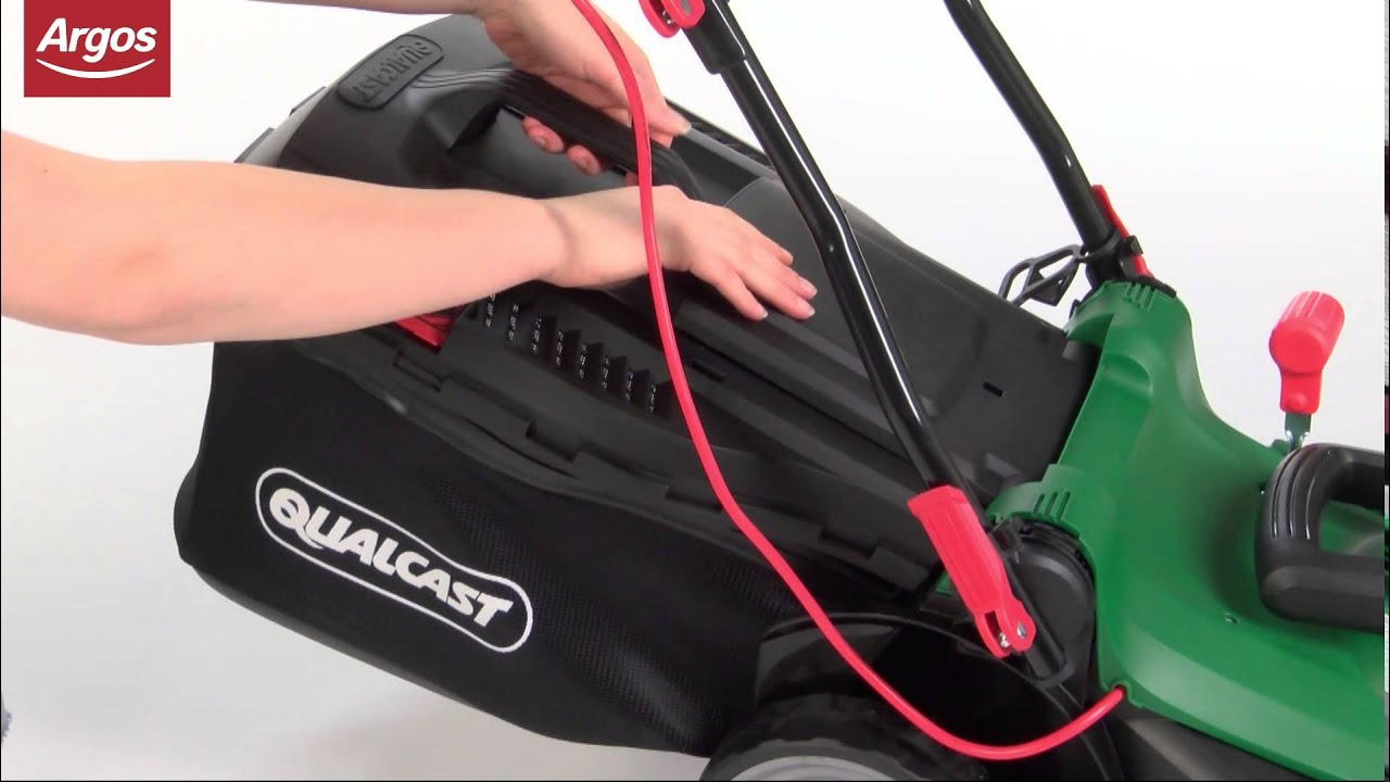 Qualcast 1400w Electric Lawnmower Argos Review Youtube