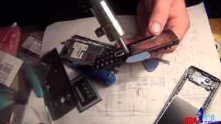 Samsung GT S5610. Как поменять стекло передней панели на телефоне самсунг(В этом видео я покажу вам что не совсем обязательно полностью корпусную часть приобретать, а можно отдельно..., 2014-12-22T05:42:02.000Z)