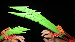 Как сделать бумажные когти Хищника | бумажные когти