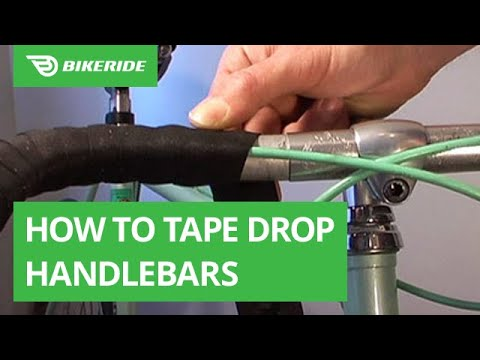 How to Tape Drop Handlebars