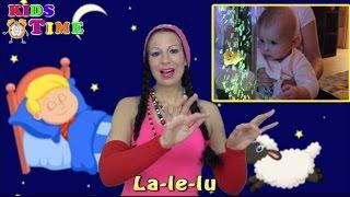 La Le Lu nur der Mann im Mond | Schlaflied mit Text | песме за децу у немачком