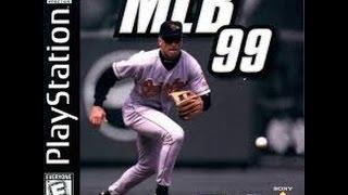 MLB 99 PlayStation gameplay