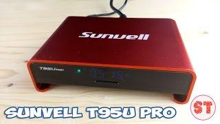 Sunvell T95U PRO - TV BOX с экраном для часов на Android 6