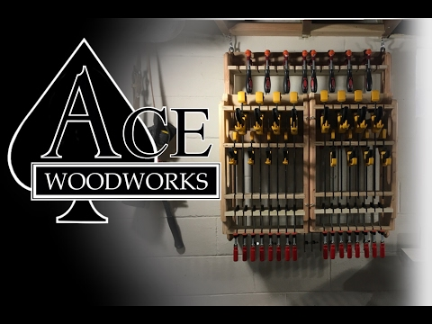 Ace Woodworks- Clamp Rack