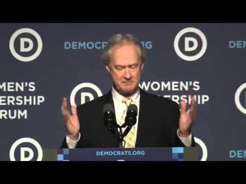 Lincoln Chafee Ends Campaign For President Oct.23.2015