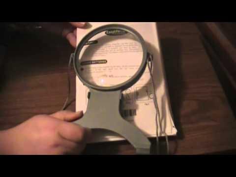 EasyLifeCare Handsfree LED Illuminated Magnifier