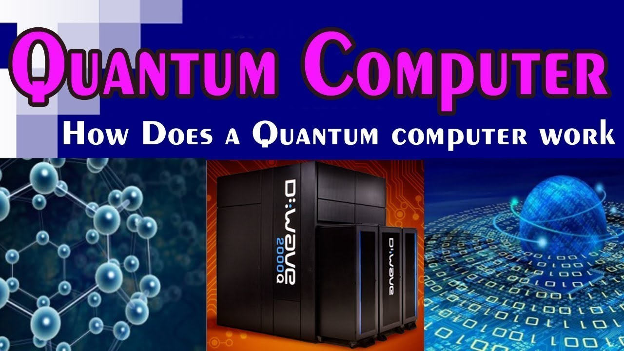 How does QUANTUM computer WORK?