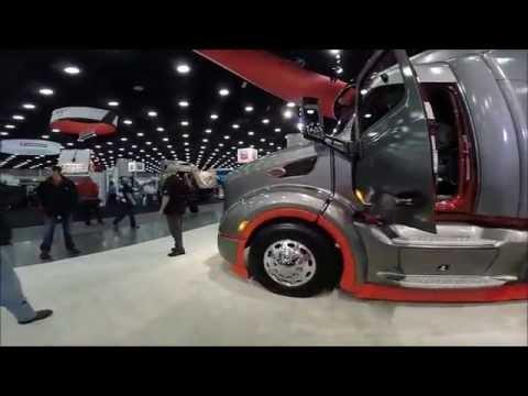 BRT & Peterbilt Trucks at Mid America Truck Show 2015