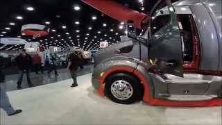 BRT & Peterbilt Trucks at Mid America Truck Show 2015