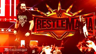 """Seth Rollins vs. Brock Lesnar Official Wrestlemania 35 Promo Theme Song - """"Man With a Plan"""""""