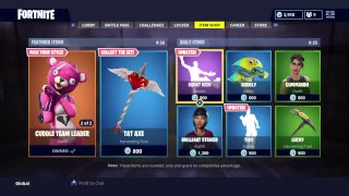Fortnite Battle Royale, Item Shop Refresh NEW SKINS!!!