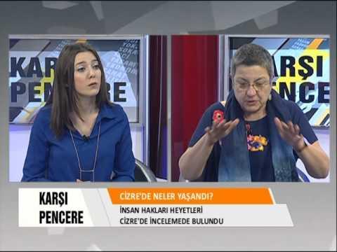 Karşı Pencere - Prof. Dr. Şebnem Korur Fincancı ile Cizre'yi konuştuk