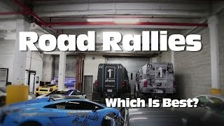 Gumball 3000 - Goldrush Rally - Bullrun Rally (Comparison)