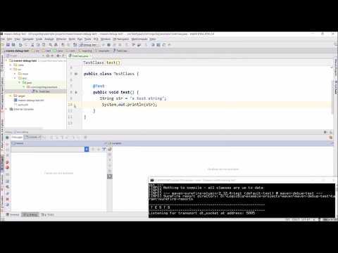 How to debug JUnit tests in Maven?