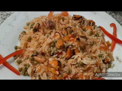 """riz-aux-fruits-de-mer-""""recette"""""""