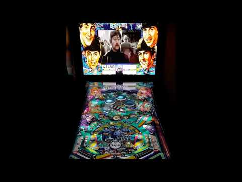 The Beatles Visual Pinball X In 4K VPX Table (no Sound)
