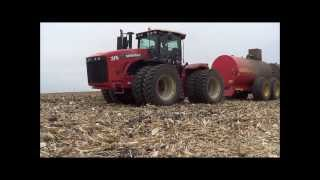 Hauling Hog Manure in  Iowa