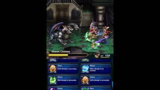 Final Fantasy Brave Exvius - New Farplane Boss - Demon Chimera