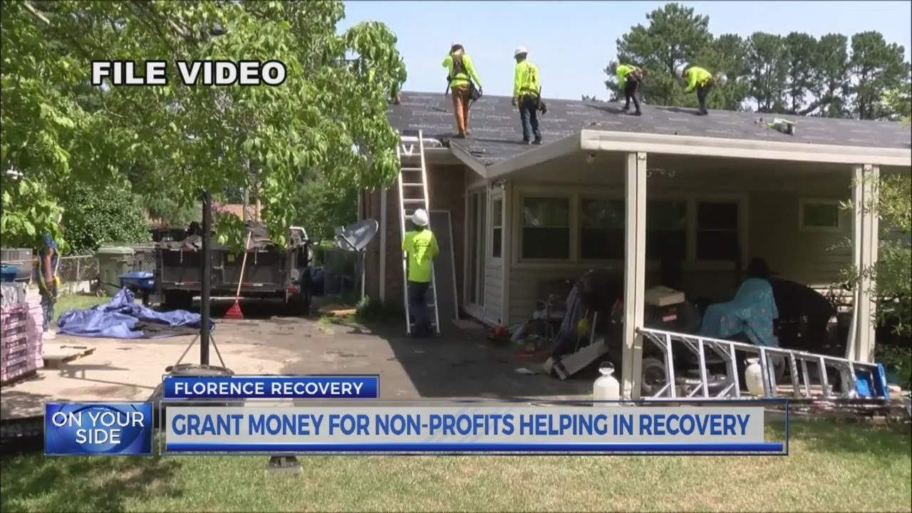 Grant money for non-profits helping in recovery