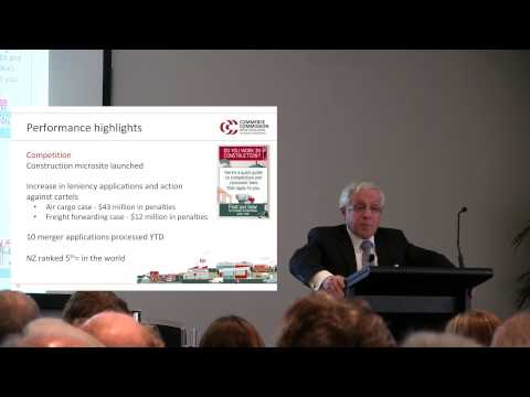 Commerce Commission stakeholder briefing 2014