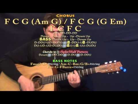 That Doesn't Sound Like You (Lee Brice) Guitar Lesson Chord Chart - Capo 4th
