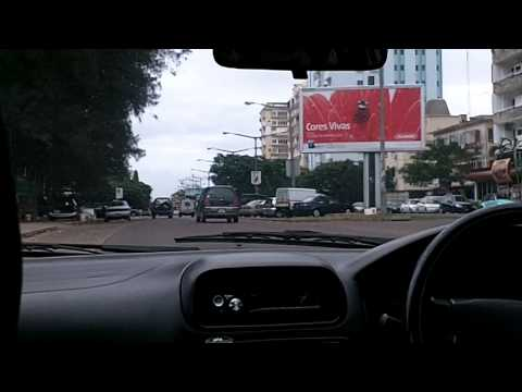 Driving through the Streets of Maputo