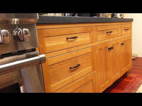 DIY Kitchen Cabinets Ep 6 – Attaching the Face Frame & Back