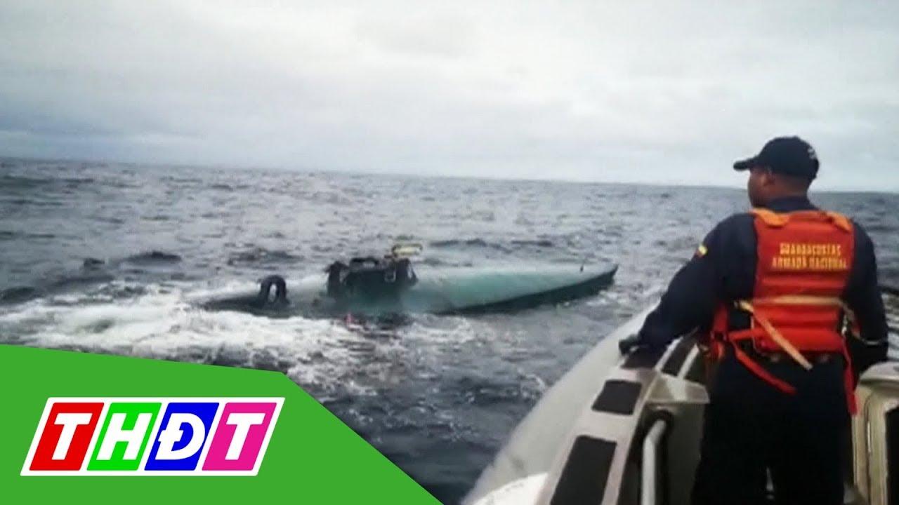 Colombia bắt giữ tàu ngầm vận chuyển ma túy | THDT