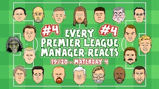 ⚽️#4 Every Premier League Manager Reacts!⚽️