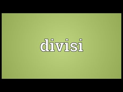 Divisi Meaning