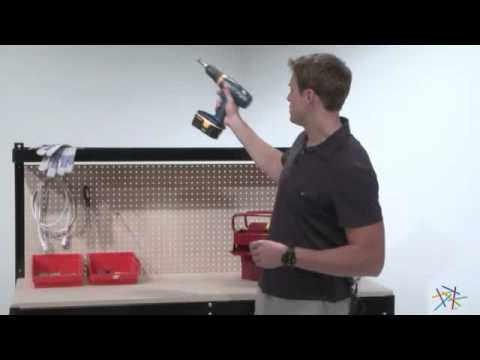gorilla rack 5 ft industrial workbench product review video