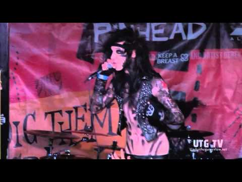 UTG TV: Black Veil Brides - Sweet Blasphemy (Live @ SXSW 2011) (1080p HD)