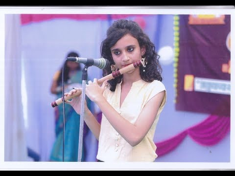 MOH MOH KE DHAGE  LIve flute Performance In BAMS college Cultural event