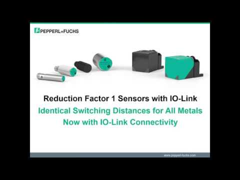 Reduction Factor 1 Sensors with IO-Link