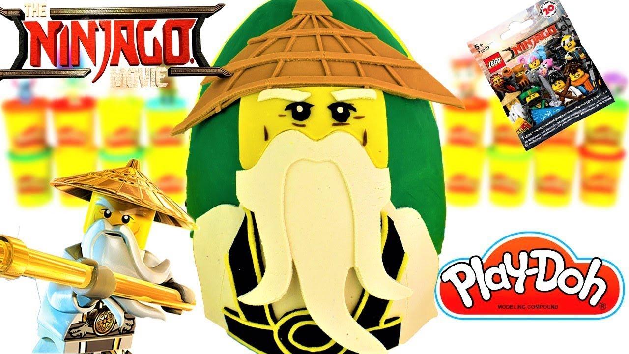 Huevo Sorpresa Gigante de Lego Ninjago Movie Maestro Wu de ...