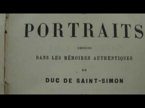 SCÈNES ET PORTRAITS ,DUC DE SAINT-SIMON ,TOME SECOND 1876