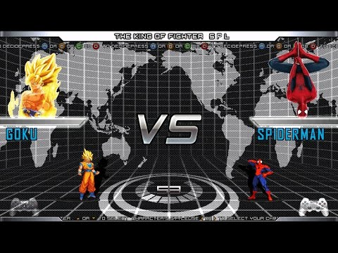 Son Goku ( Kakarotto  ) VS Spider-Man (disambiguation)