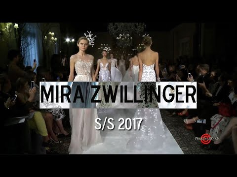 Mira Zwillinger Spring Summer 2017 Collection Runway Show @ Bridal Fashion Week NY