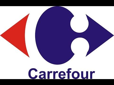 Cara membuat desain logo carrefour dengan coreldraw
