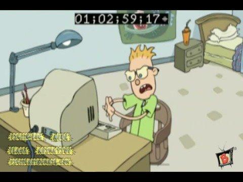 Television flash animation (Pierre-Luc Aube)