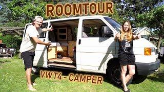 ROOMTOUR - VW T4 - CAMPER VAN - DIY WOHNMOBIL AUSBAU inkl. STERNENHIMMEL