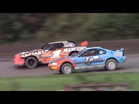Mini Stock Feature | Genesee Speedway | 9-17-17