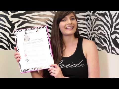 Bachelorette Party Ideas: Free Printable Scavenger Hunt