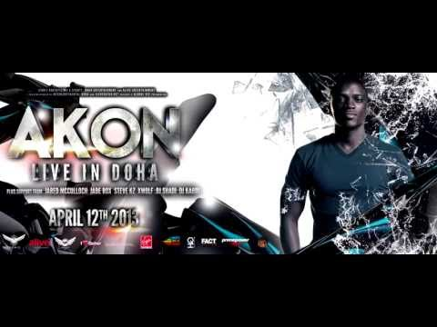 Video Invite: AKON shout out to Qatar - Live in Doha on the 12th