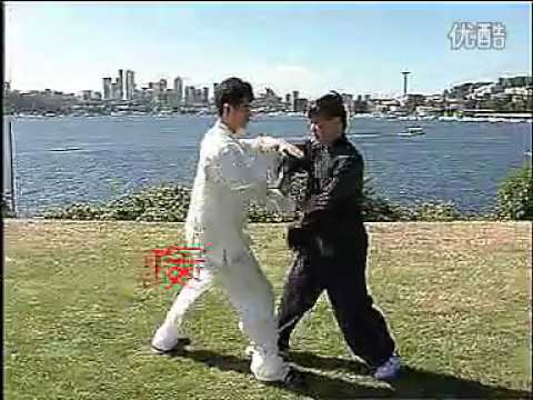 Master Yang Jun - Push Hands - 8 Jin (energies/techniques)