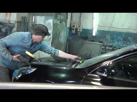 Кузовной ремонт Nissan Teana. Финалочка