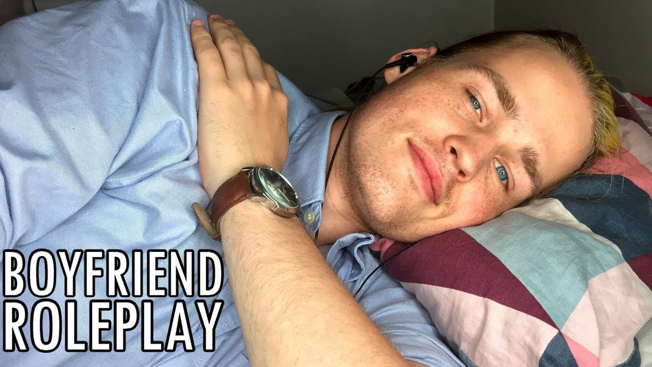 Asmr - Personal Attention Boyfriend Roleplay In Bed Soft Speaking -3765